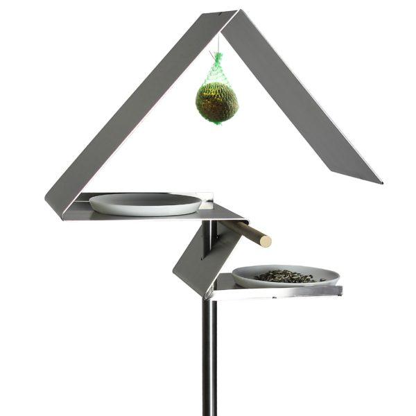 Karmnik VHT-4 wykonany ze stali nierdzewnej. www.opossum-design.com