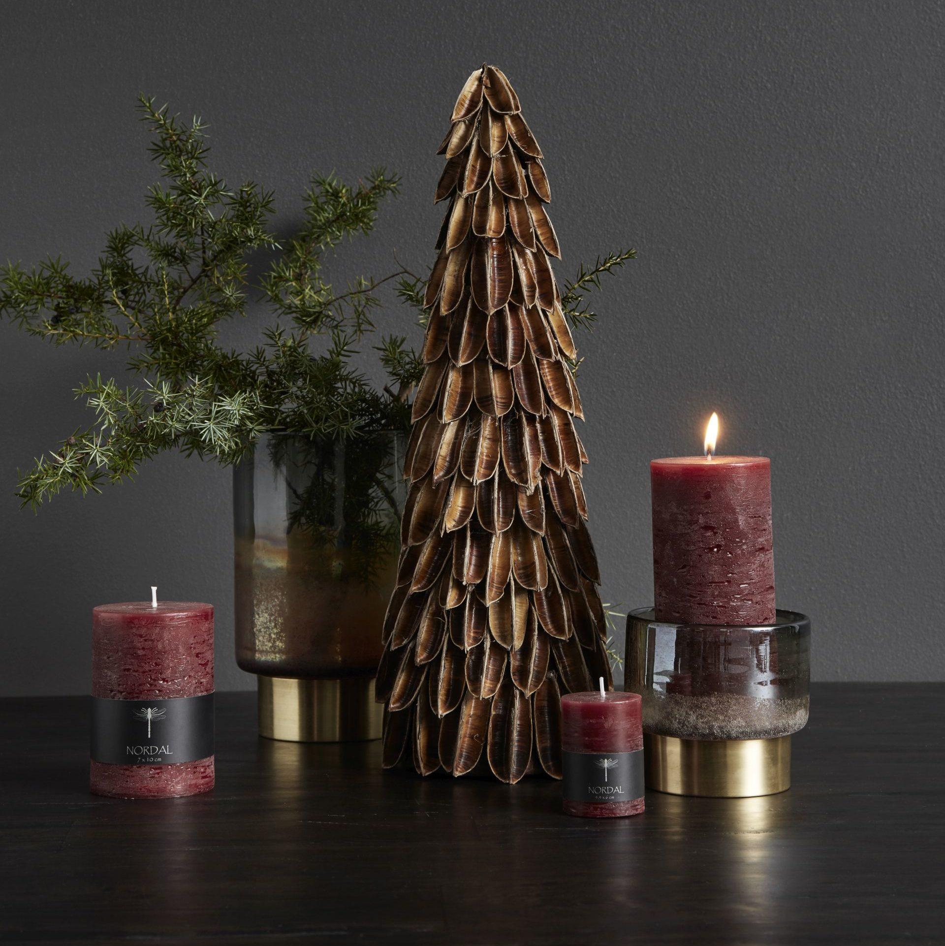 Propozycja dekoracji świątecznej marki Nordal. www.nordal.eu