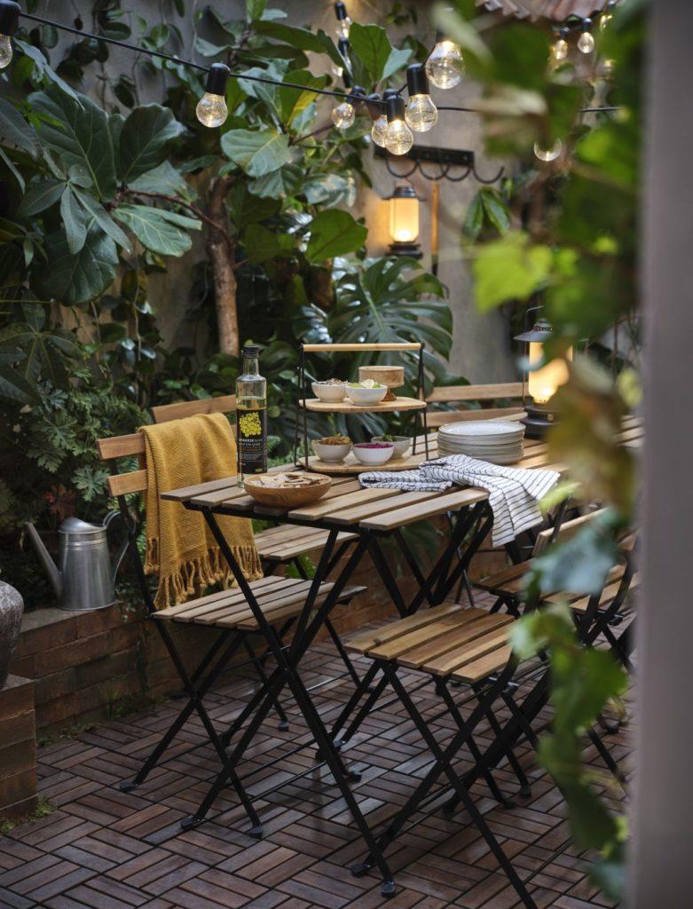 składane meble ogrodowe