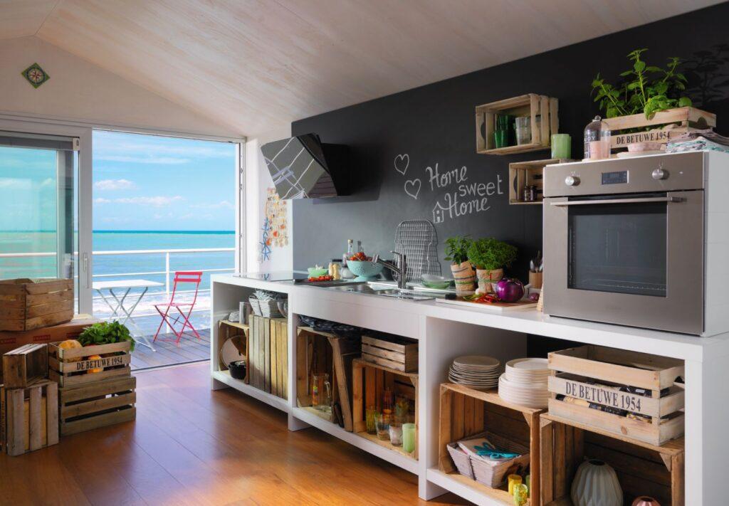 mieszkanie w stylu wakacyjnym