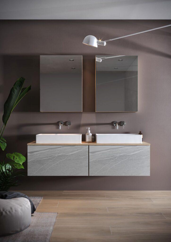 łazienka w stylu eco