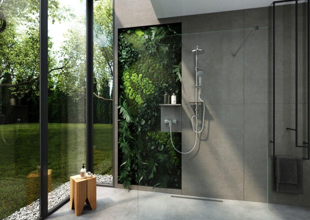 strefa prysznica