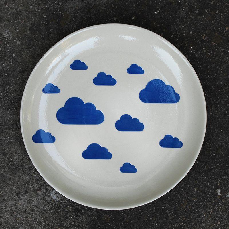 ręcznie wyrabiana ceramika inspirowana niebiem
